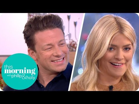 Holly Gets Personal With a Turkey in Jamie Oliver's Christmas Dinner Masterclass | This Morning