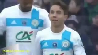 Toulouse vs Marseille 1   2 coupe de france  tous les buts et le résumé de Match  08 01 2017