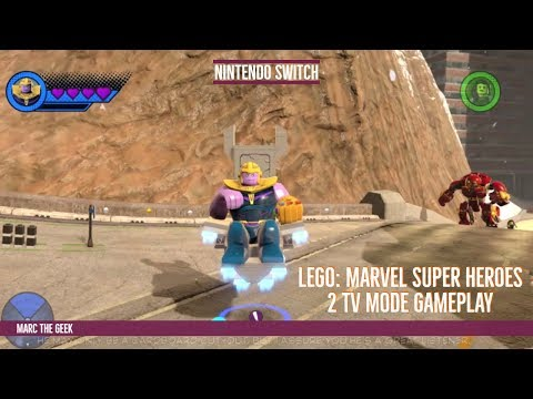 Nintendo Switch Lego: Marvel Super Heroes 2 TV Mode Gameplay