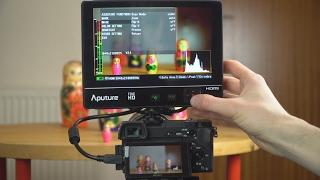 "Aputure VS-2 Fine HD 7"" LCD Field Monitor Review"