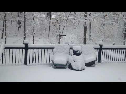 Snowstorm March 21, 2018