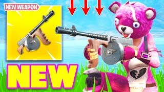 NEW DRUM GUN ITEM UPDATE COMING SOON TO FORTNITE BATTLE ROYALE!!
