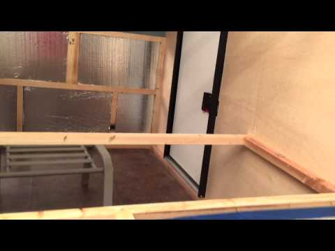 Off Road Teardrop Trailer Build- Internals and Side Walls.