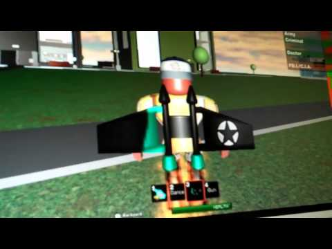 ROBLOX Online - LESSON 1 FLYING A JET PACK