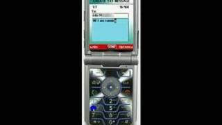 Verizon Motorola RAZR V3c How To Send a Text Message