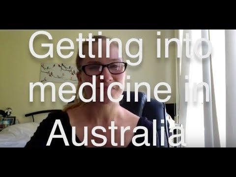 Getting into medicine in Australia