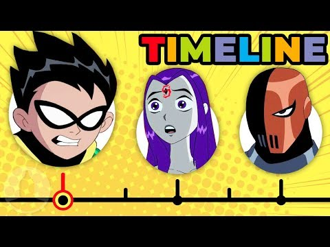 Xxx Mp4 The Complete Teen Titans Timeline Channel Frederator 3gp Sex