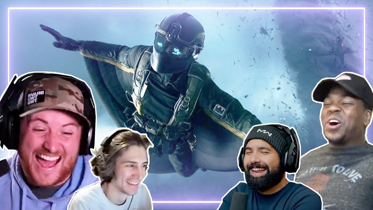 Gamers REACT to Battlefield 2042 - Reveal Trailer | Gamers React