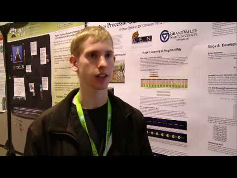 Andrew Belliner from Grand Valley State University builds a Personal Supercomputer