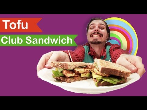 How to Make a Crispy Tofu Club Sandwich: Vegiterra Kitchen Lab Episode 2