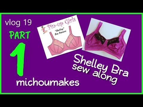 Shelley Bra sew along Part 1