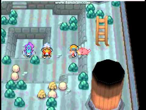 Lets play pokemon heart gold part-8 Ercuteak city,HM's Surf/Strenght,Shadow claw and Morty