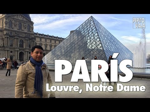 París Cultural, Notre Dame, Louvre, Navidad - Pepito Viaja