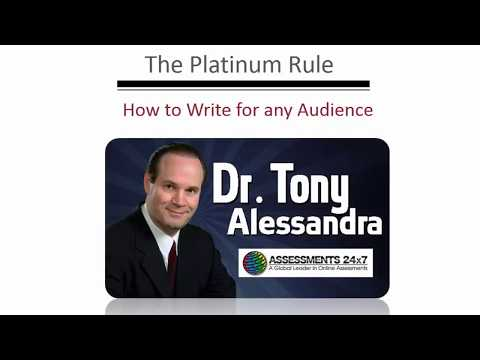 Business Communication Skills: The Platinum Rule & How to Communicate with Anyone