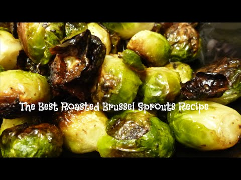 The Best Roasted Brussel Sprouts Recipe | By Victoria Paikin