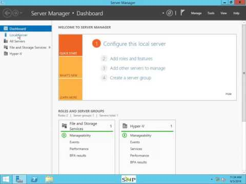 How to check Ram Size in Server 2012 r2