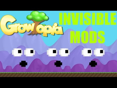 Growtopia | Invisible Mod Sighting #1