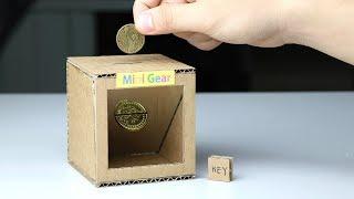 How to Make Magic Coin Box - Piggy Bank for Kids