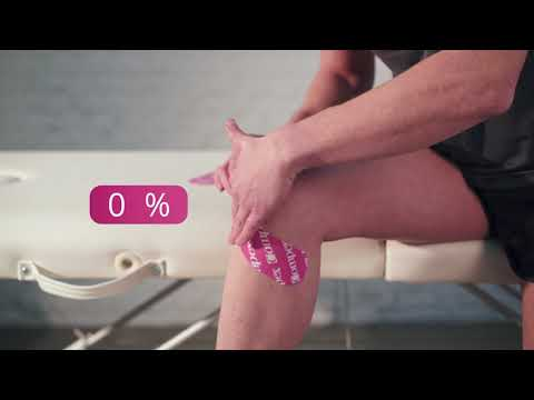 Compex Tape - Application Osgood Schlatter