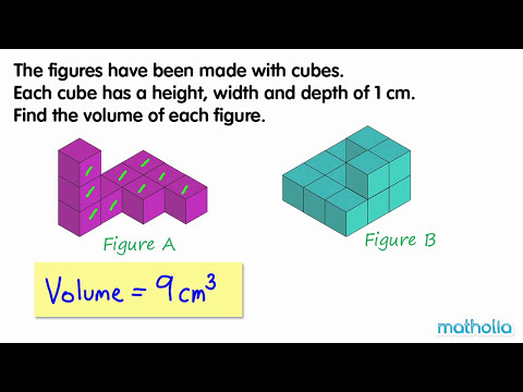 Measuring Volume in Cubic Units
