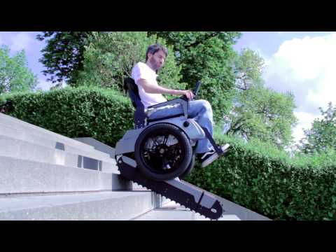 Scalevo - The Stairclimbing Wheelchair - ETH Zurich