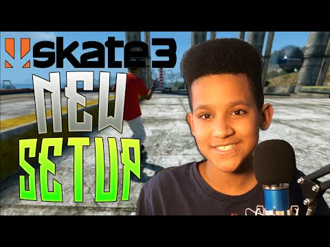 NEW SETUP! | Skate 3