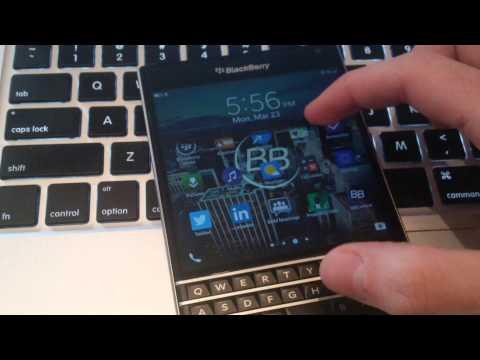 BlackBerry OS10.3.2 Lock Screen Animation