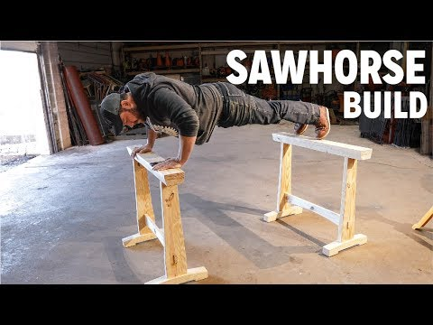 Woodworking Sawhorse | Skill Builder How To