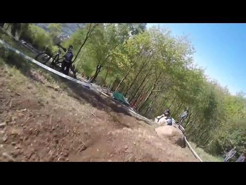 Timed practice run Lourdes - Marcelo Gutierrez