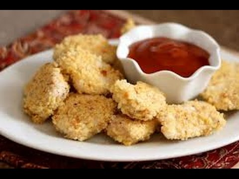 Oven Baked Chicken Nuggets | One Pot Chef