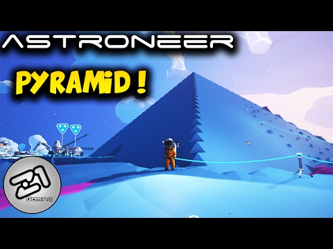 Astroneer Pyramid ! How to build a pyramid ! S2E6 | Lets play astroneer gameplay | Z1 Gaming
