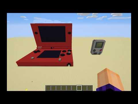 Minecraft DSi and Gameboy