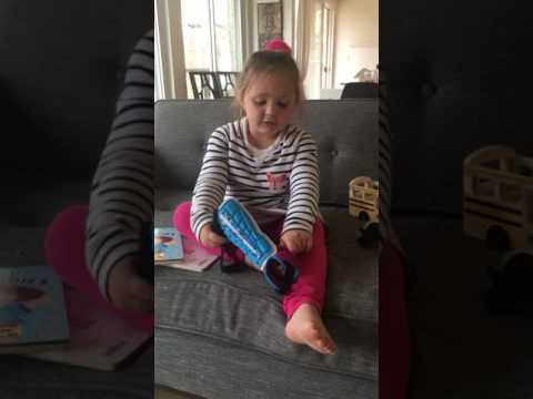 Vivienne shows you how to put on shin guards