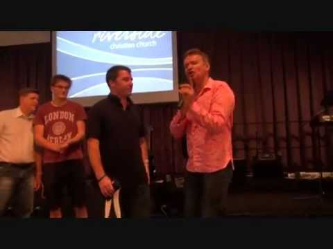 Painful, torn chest muscles healed instantly - John Mellor Ministries