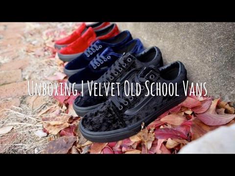 b444753c480903 All Black Velvet Vans   Velvet Black