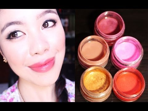 DIY Lip Gloss- Sheer/Tinted- Beautyklove
