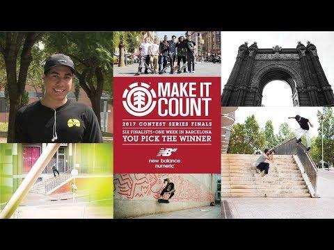 Element Make It Count 2017: Keanu Peina