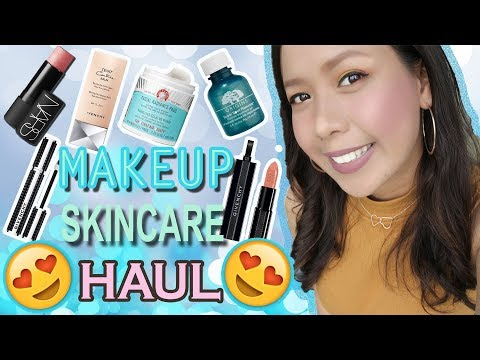BEAUTY HAUL: Makeup & Skincare (TAGALOG!) | The Glam Owl (Philippines)