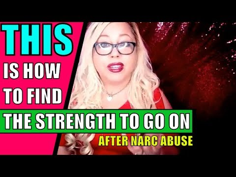 How do you get over a narcissist? 4 Steps to Find the Strength to Move on After Narcissistic Abuse