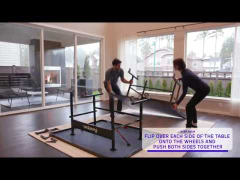 Assembly Video | Harvil I, Indoor Table Tennis Table | Dazadi.com