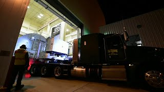 How Do You Safely Transport a Space Telescope?