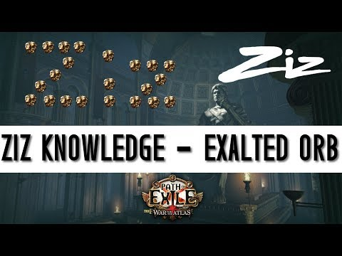 Path of Exile - Introduction to Exalted orbs