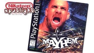 Spotlight Video Game Reviews - WCW Mayhem (Playstation)