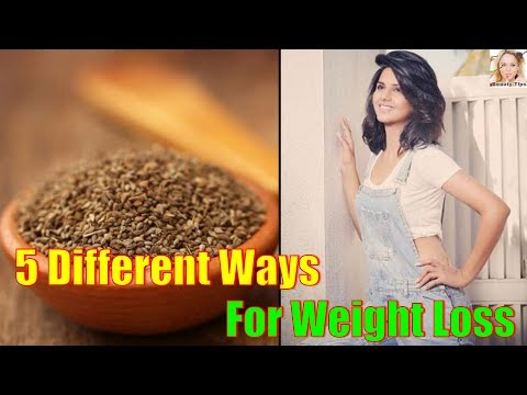 5 Different Ways You Can Use Carom Seeds For Weight Loss