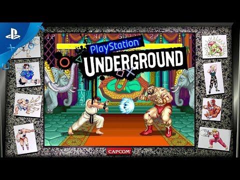 Street Fighter 30th Anniversary Collection Gameplay | PlayStation Underground