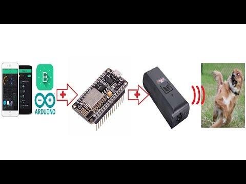 NodeMcu (ESP8266) Remote Control to Dog Anti Barking Device