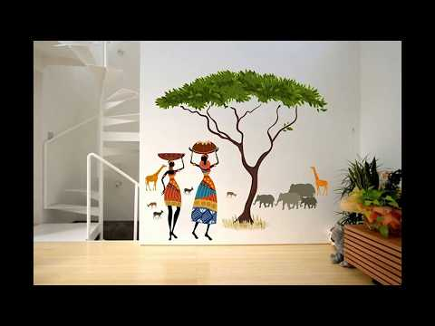 Beautiful 10 Wall Stickers for DIY Wall Decoration Ideas at Home