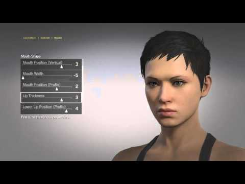 METAL GEAR SOLID V: THE PHANTOM PAIN ONLINE MULTIPLAYER - Female Character Creation