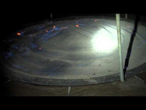 propane sand fire pit
