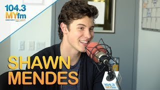 Shawn Mendes Talks New Album, Sending Selfies To Charlie Puth, John Mayer, Acting & More!